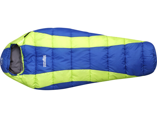 High Colorado Condor Jr. - Sac de couchage Enfant - jaune/bleu